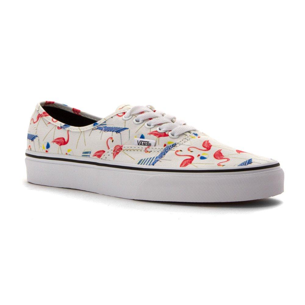 Vans Mens Authentic Low Top Lace Up Canvas Skateboarding Shoes B0198WDQLU 13 B(M) US Women / 11.5 D(M) US Men Classic White/True White