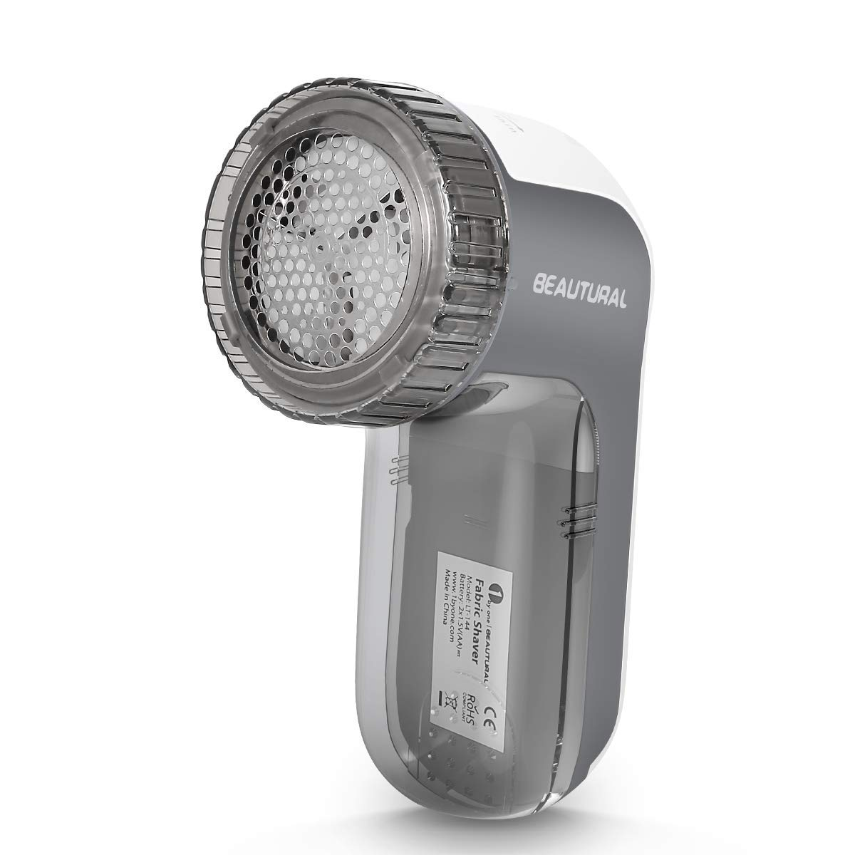 Quitapelusas eléctrico,9000R / Min, 3 alturas de afeitado,3 tamaños de agujeros