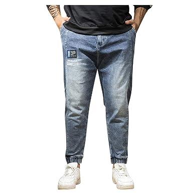Vectry Pantalones Hombre Pantalones De Verano Casual Largo Skate ...