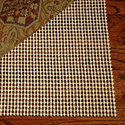Area Rug Pad 8x10 Non Skid Slip Underlay Nonslip Pads 8 X 11 Large Size Nonslip Pads For Rugs Hardwood Synthetic Rubber