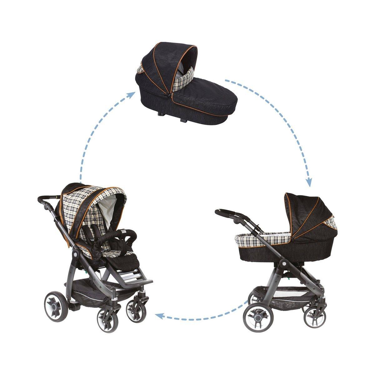 Teutonia Juego Co gr 3 CPtT 5210 Cosmo Graphite rad3 Comfort Plus bolsa, Wild West: Amazon.es: Bebé