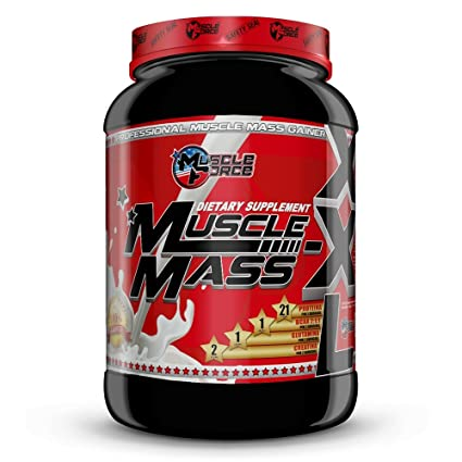 Muscle Force Mass XXL Bottle Suplemento de Carbohidratos - 2268 gr