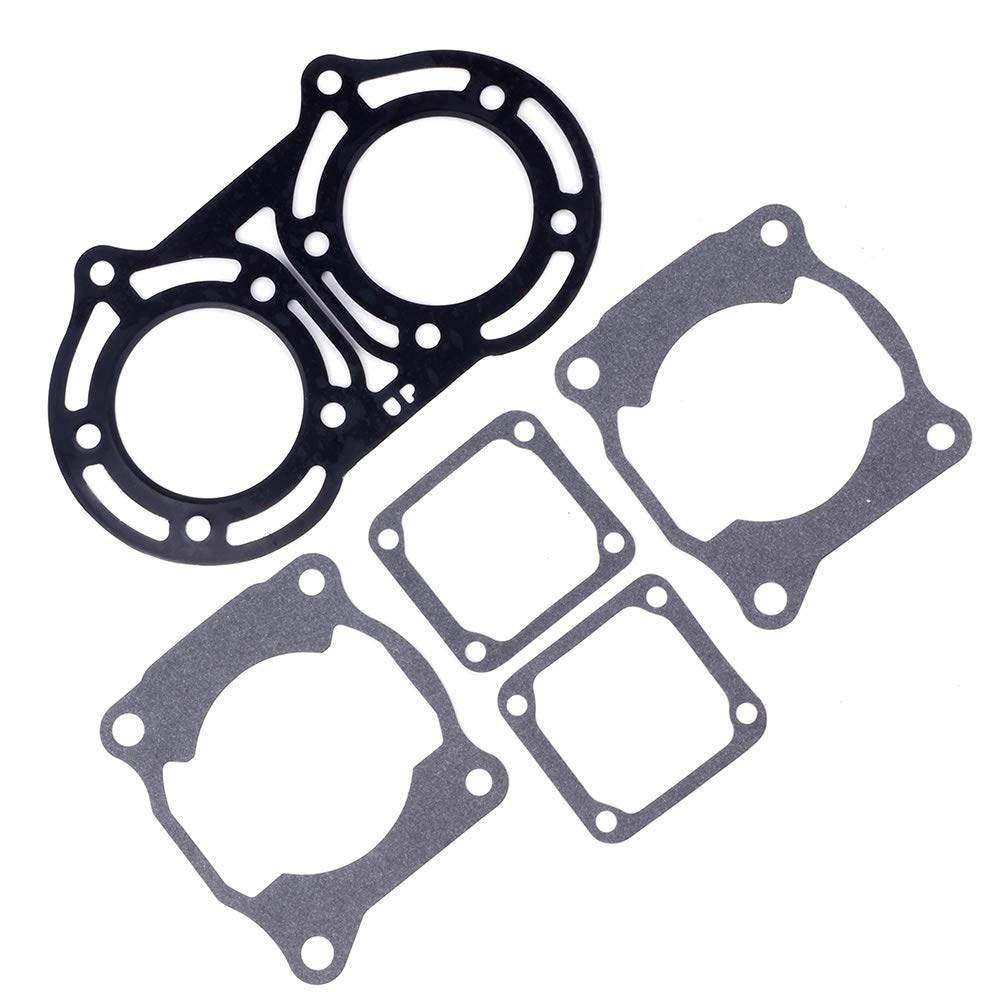 SCITOO Compatible with Cylinder Head Base Valve Seat Gasket Kit Fit Yamaha Banshee 350 1987-2006 2GU-11181-00-00