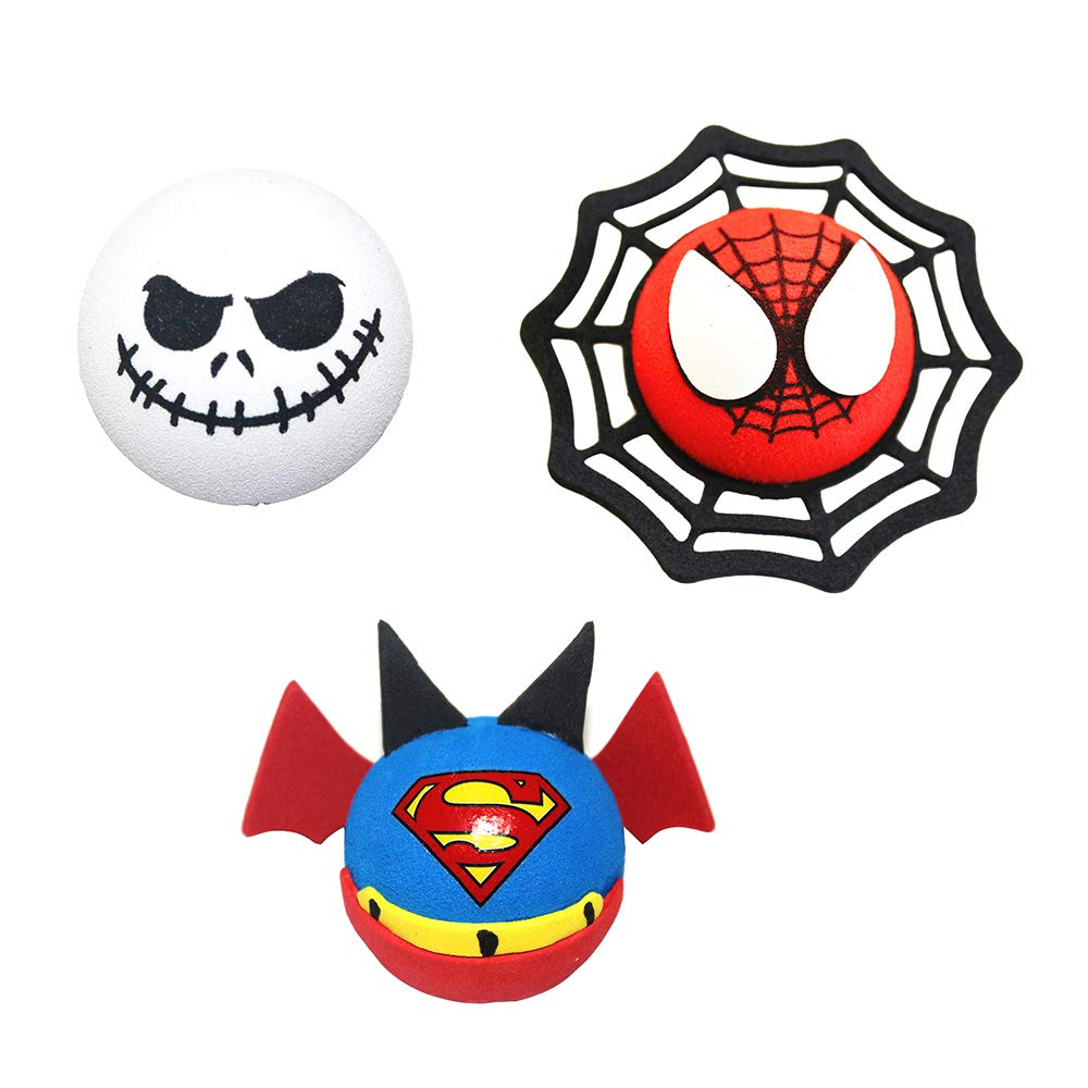 Type 9 allentian Car Antenna Toppers//Antenna Balls//Mirror Danglers Cute 3PCs