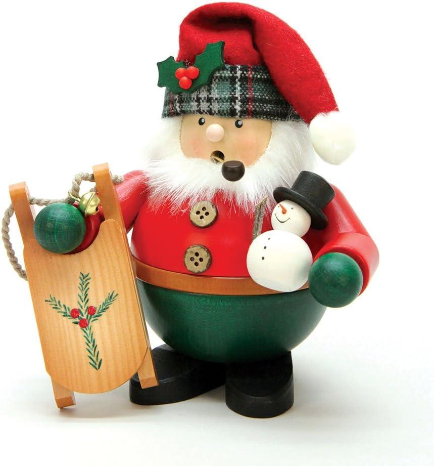 Rauta Erzgebirge 714 großer Weihnachtsmann mit Schlitten NEU und OVP