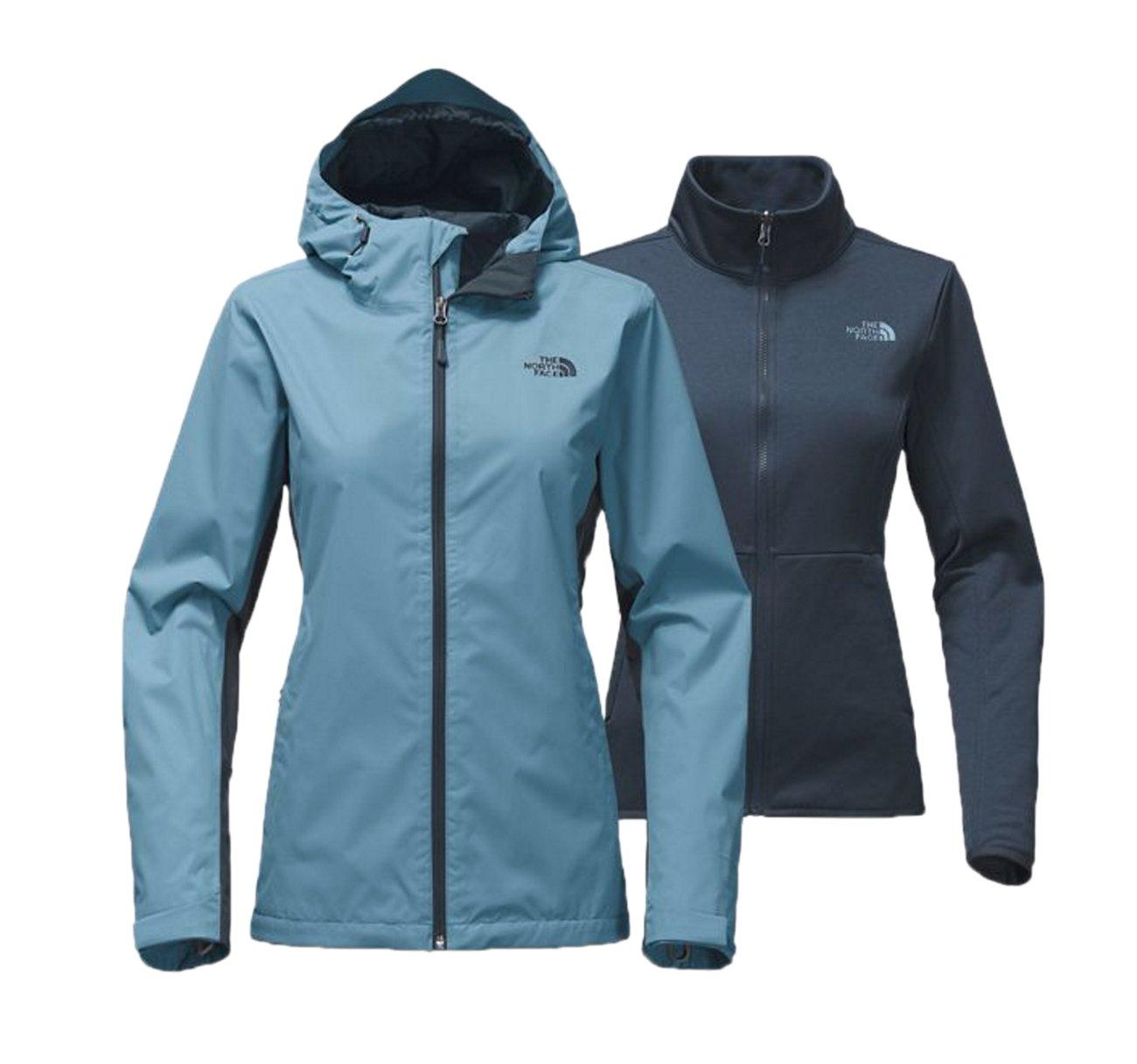 The North Face Women's Arrowood Tri-Climate Jacket Provincial Blue/Ink Blue (Medium)