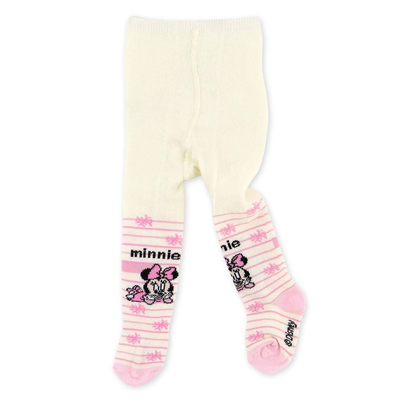 98//104 Disney Minnie Mouse Strumpfhose creme 24-36 Monate