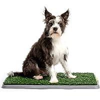 Potty Patch Small Kit (Under 15lbs) - Indoor Dog Litter Box, Puppy pad, pet Training (Regular)