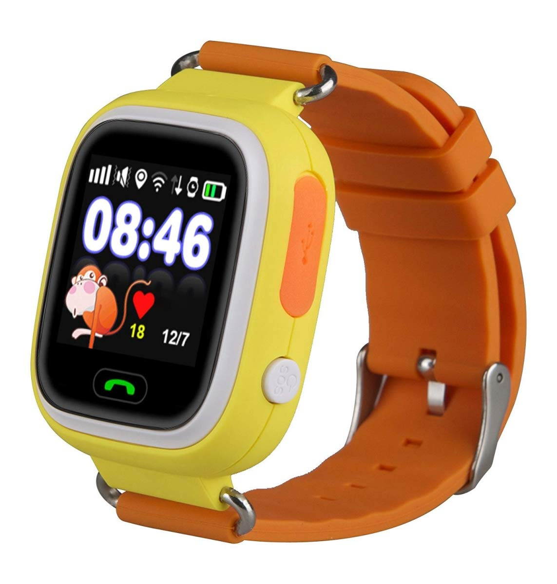 TechComm Q90 Kids GPS Smart Watch Fitness Tracker Call & Text by TechComm (Image #1)