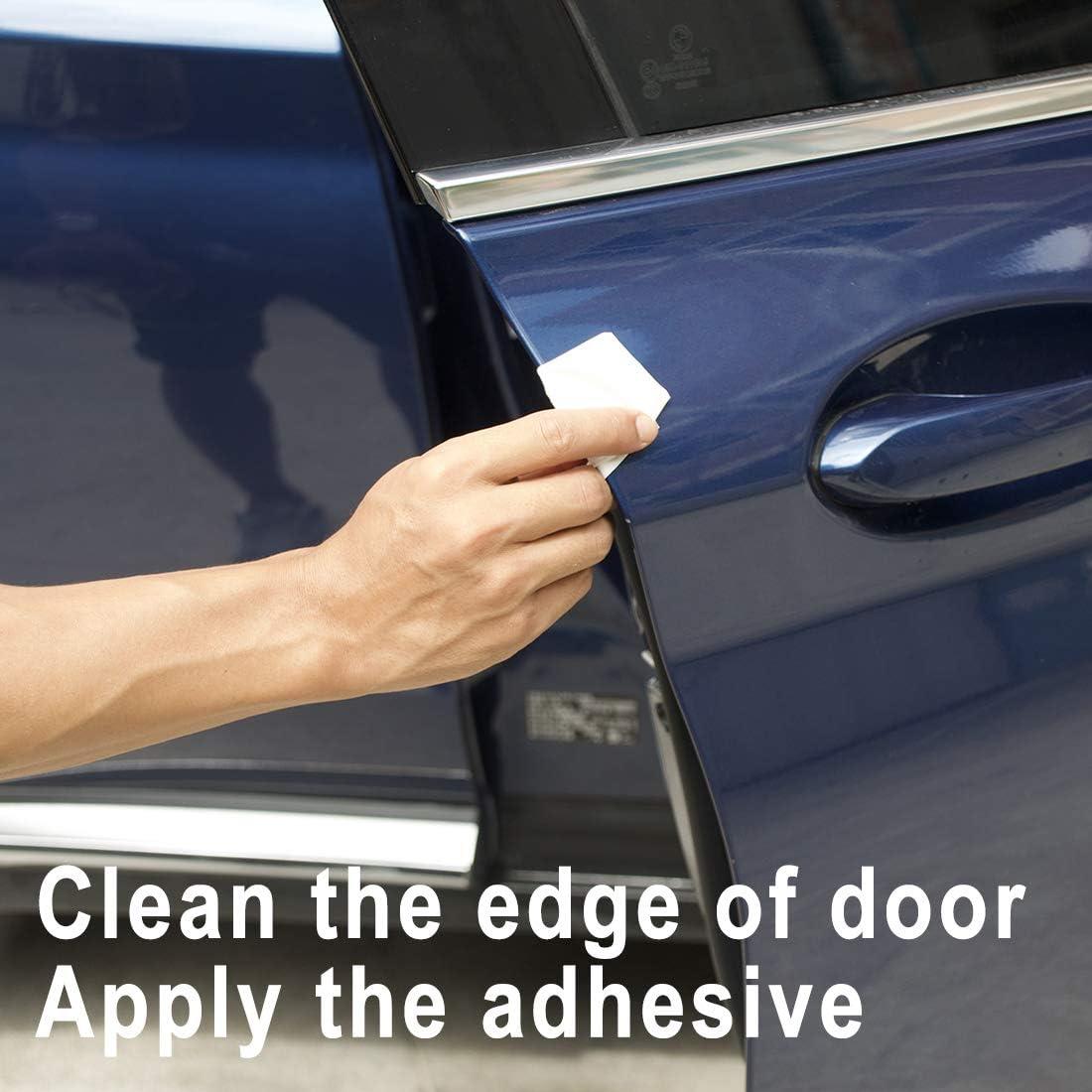 Auto Door Trim Molding 20ft Maremlyn Door Edge Guard U-Shaped Car Edge Trim Rubber Seal Door Edge Protector Fits for Most Car 6m