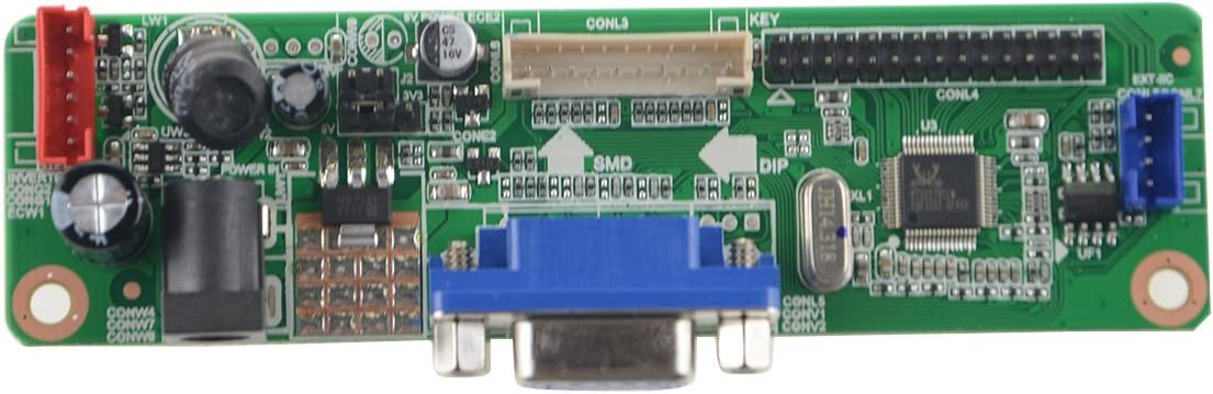 NJYTouch V.M70A VGA LCD Controller Board Kit for LP156WF1-TLB1 LP156WF1-TLB2 LP156WF1 15.6 inch 1920x1080 LED Screen LVDS