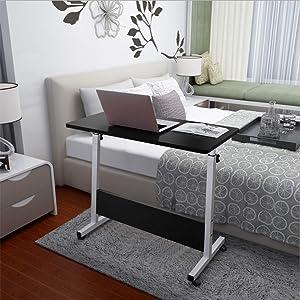 Cibee Adjustable TV Tray Table, Folding Computer Desk Cart 31.5