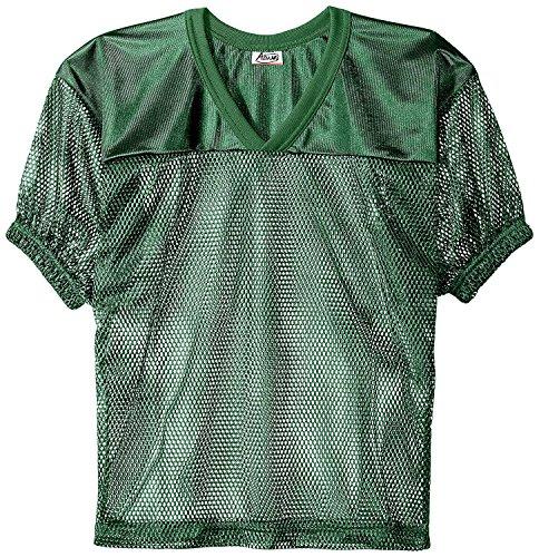 Adams USA FB Youth Jersey with Elastic Sleeve, Dark Green, M