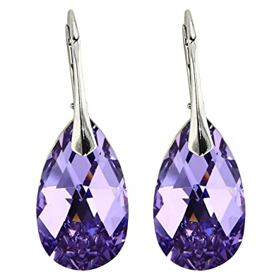 a2e65d82bd39 Pendientes con Cristales de Swarovski en calidad Probada de ...