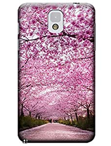 Sangu Cherry Pink Hard Back Shell Case / Cover for Samsung Galaxy Note 3