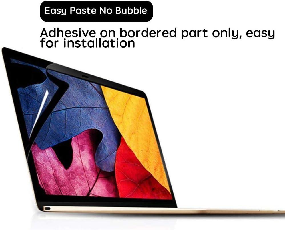 staubdicht 40,6 cm Displayschutzfolie f/ür MacBook Pro 16 Zoll HD klar Modell A2141 Kratzfest