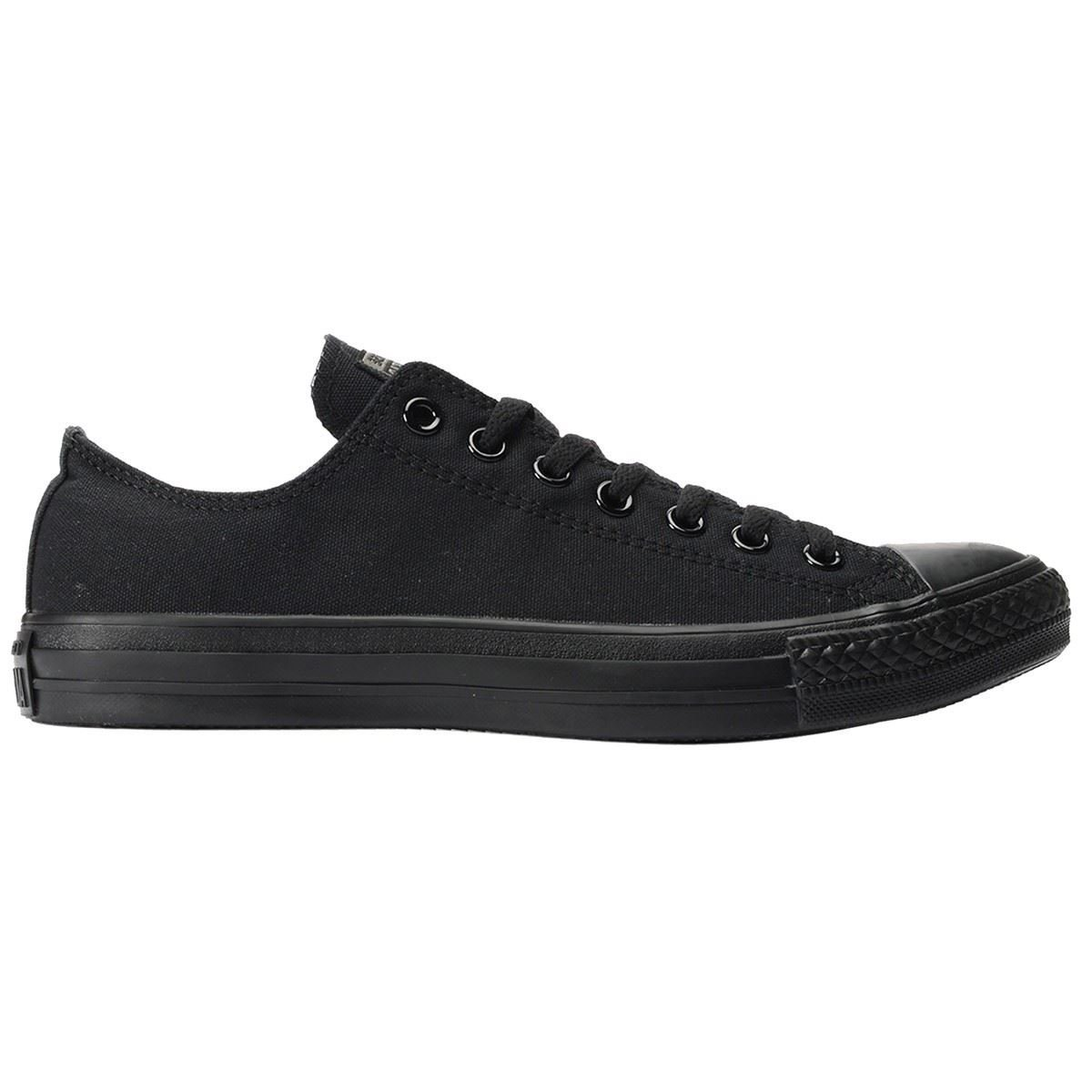 Converse Unisex Chuck Taylor All Star Low Top Black Monochrome Sneakers - 9 D(M) US by Converse (Image #8)