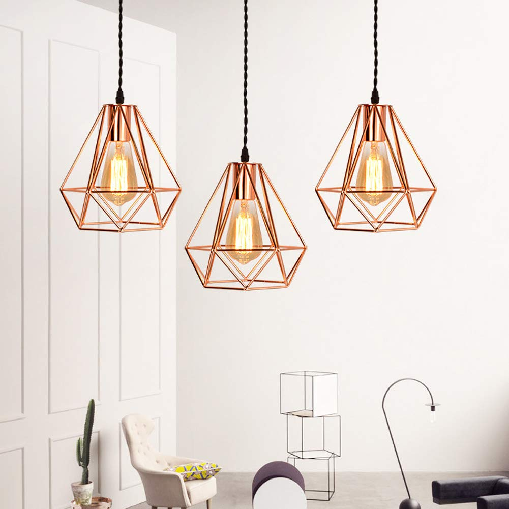 Design Creative Lustre Suspension Metal Lampe de Plafond