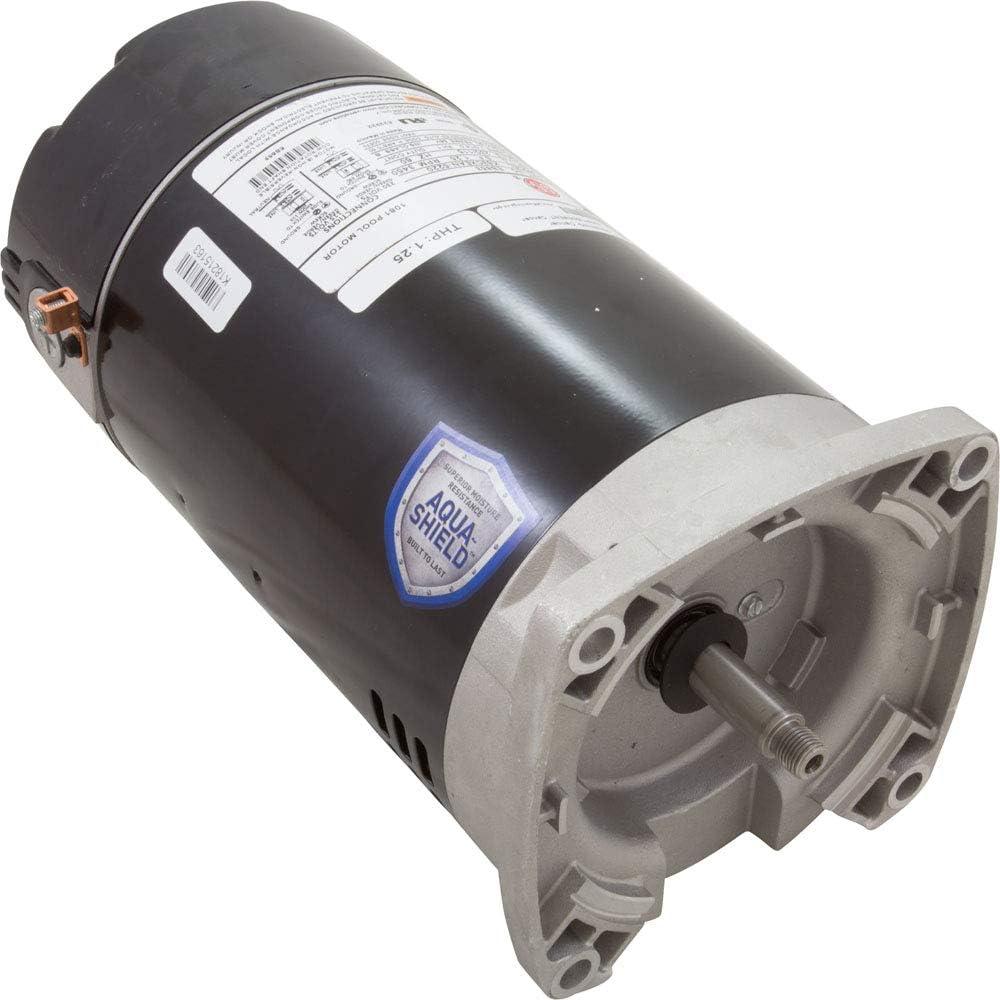 Nidec EB853 Motor SQ.FL 1HP Threaded