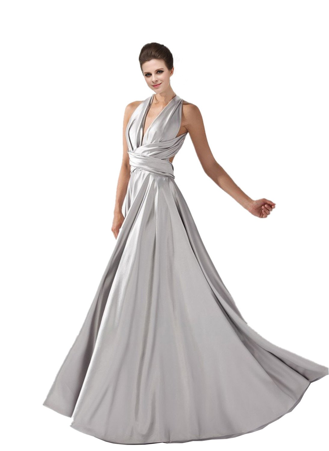 SZ1024 Women's Multivariant style Long Formal Evening Dresses Variety Model Prom Gowns Size 8
