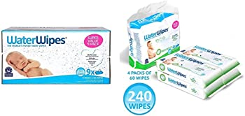 540-Count WaterWipes Sensitive Baby Wipes Bundle