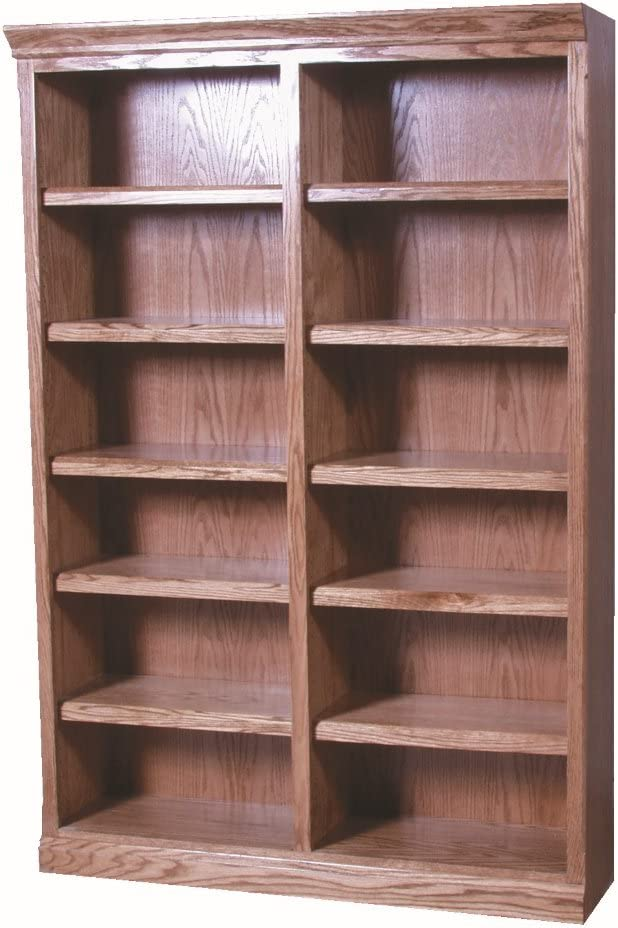 Mission Bookcase (Eight Shelves) Golden Oak