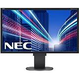 NEC 60003414 60,9 cm (24 Zoll) LED-Monitor (DVI, HDMI, 5ms Reaktionszeit) schwarz