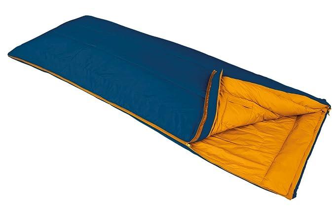 VAUDE Navajo 100 - Saco de dormir rectangular azul kingfisher Talla:left: Amazon.es: Ropa y accesorios