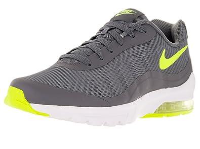 Nike Men's Air Max Invigor Running Shoe Grey/Volt/White