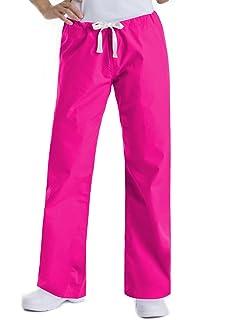 84735c1234b Landau Urbane Essentials 9502 Women's Relaxed Drawstring Scrub Pant  Primrose 2XL
