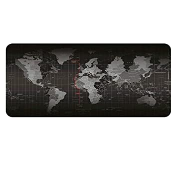 Frcolor World Map Gaming Mouse Pad Amazon In Electronics