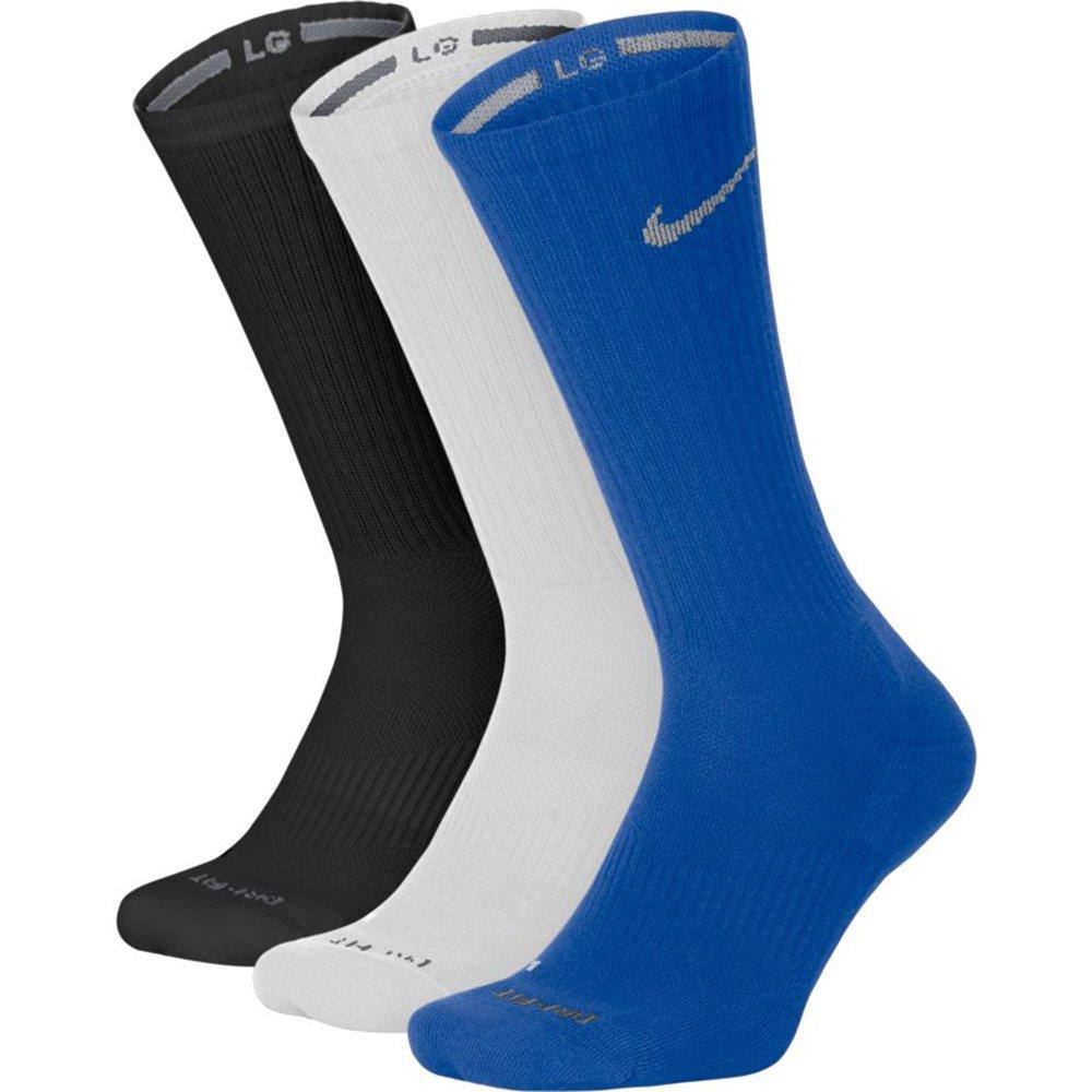 Nike Unisex Dry Cushion Crew Training Socks (3 Pair) Multi-Color 948 X-Large (Men's Size 12-15)