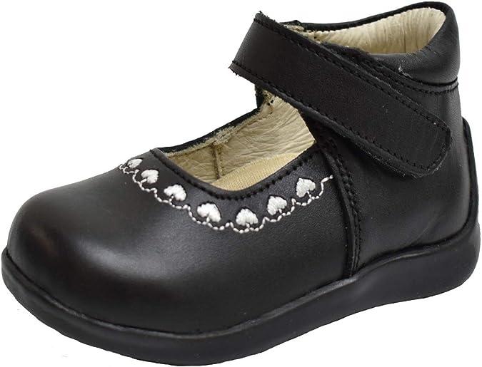 Amazon.com: Wobbly Waddlers zapatos de cuero para niñas ...