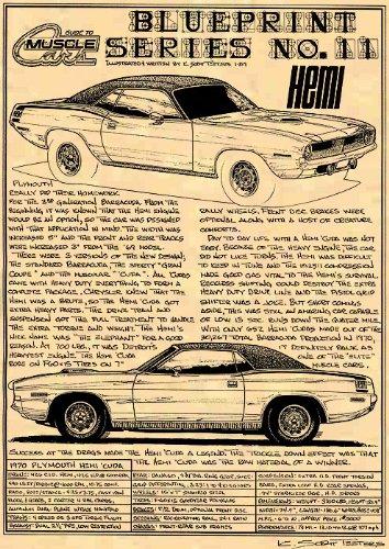 426 Hemi Cuda (1970 Plymouth Hemi Cuda Art Print)