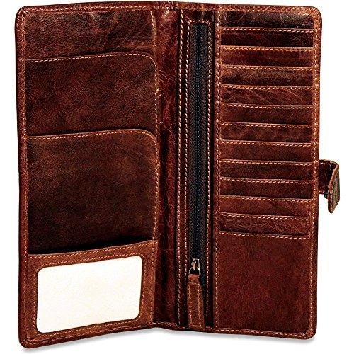 Wallet Brown Jack Travel Jack Georges Voyager Georges RFSXw0q