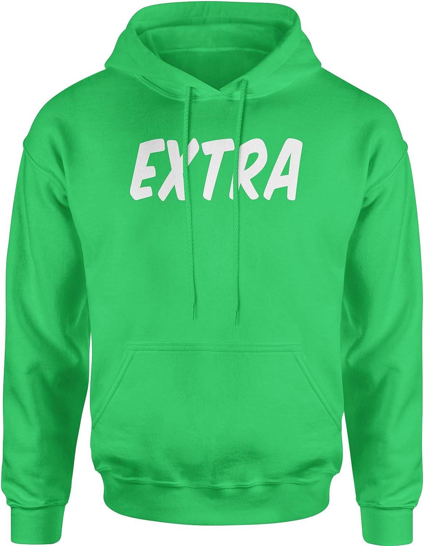 Expression Tees Extra Slang Unisex Adult Hoodie