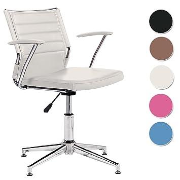 Silla de escritorio para despacho modelo LIFE con base fija ...