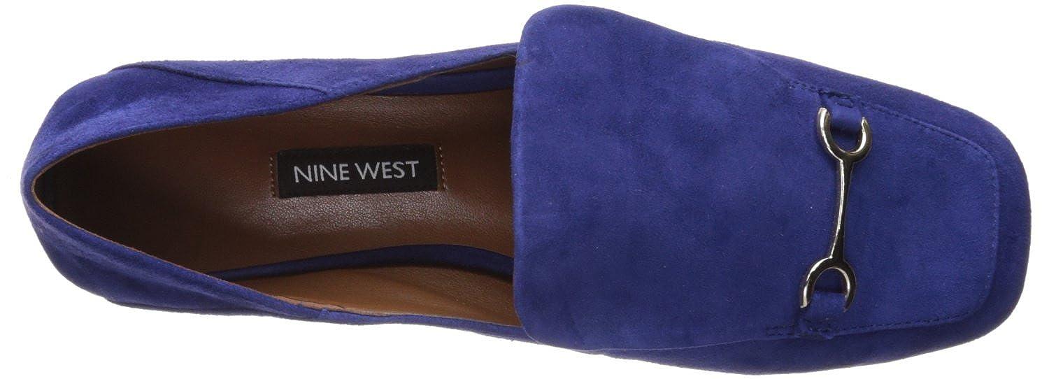 Nine West Womens YOBIE Suede Loafer Flat
