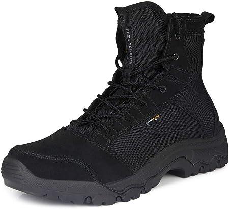 MATERIAL: El cuerpo principal de las botas tacticas está hecho de tela de nylon antirrayado y resist