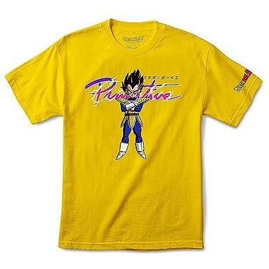 a020f6396ad66 Amazon.com  Primitive x Dragon Ball Z Men s Nuevo Vegeta T Shirt  Clothing
