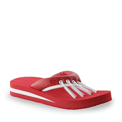 2cd2f4efa57c Beech Women s Yoga Sandals Red