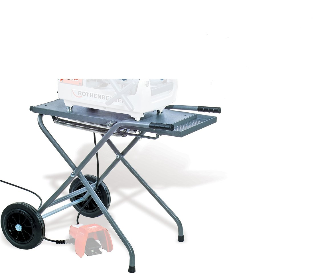 Rothenberger 00230 Folding Wheeled Stand for Threading Machine
