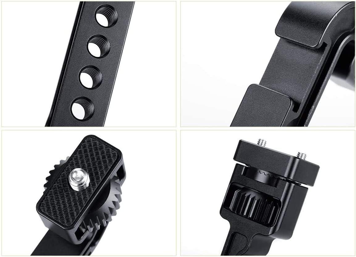 luz LED Soporte para monitor para DJI Ronin S//Ronin SC brazo m/ágico giratorio con rosca de 1//4 para micr/ófono