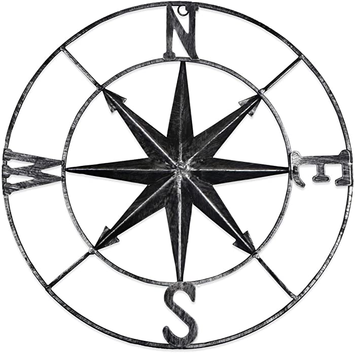 The Best Large Compass Wall Decor