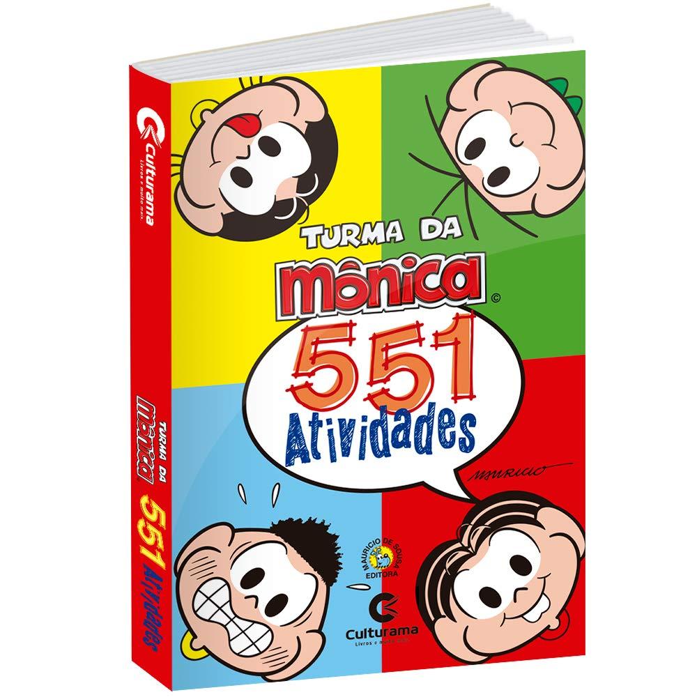 551 Atividades Turma Da Monica Amazon Com Br