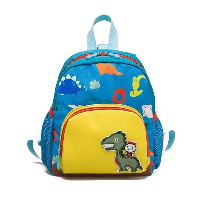 Mochilas Infantiles Mochila Para Niños Unisex Kids Pattern Animals Toddler School Bag Para Bebés Niños Niñas Lona,Blue(1)-OneSize: Amazon.es: Ropa y ...
