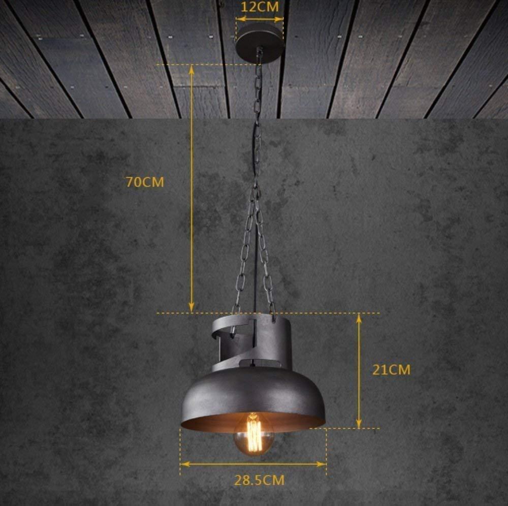 FuweiEncore Eisen-Dachboden-industrielles Leuchter-Restaurant-kreative Persönlichkeits-Retro- amerikanische Stab-Leuchter die Lichtquelle, die Nicht enthält (Farbe   -, Größe   -)