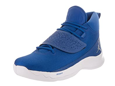 06951ef2daf Image Unavailable. Image not available for. Color: Jordan Nike Men's Super.Fly  5 PO Team Royal/Metallic Silver ...