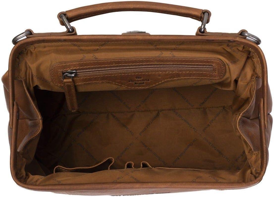 The Chesterfield Brand Shaun Sac de médecin Cuir 32 cm Cognac