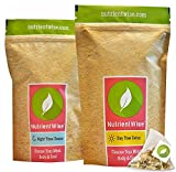 Detox Diet Plan Natural - NUTRIENT WISE Official Detox Tea & Healthy Diet Plan - Natural Weight Loss Slimming Supplement & Appetite Suppressant - Ultimate Way To Calm & Cleanse Your Body by Nutrient Wise